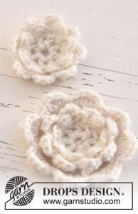 Crochet Flowers by DROPS Design