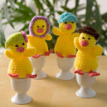 Cozy Egg Family by Michele Wilcox for Red Heart