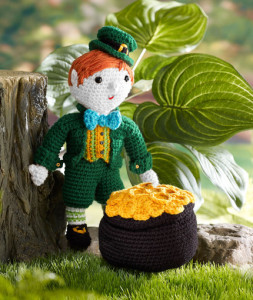 Kitrick the Leprechaun by Kj Hay for Red Heart