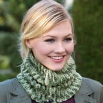 Charming Camo Cowl by Randy Cavaliere forRed Heart