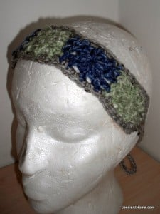 Squares Headband by Jessie At Home