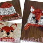 Baby Fox Hat - Newborn to 12 Months by Crochet Addict