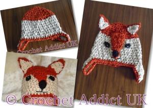 Baby Fox Hat - Newborn to 12 Months by Crochet Addict