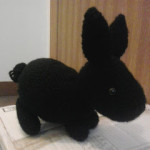 Black Rabbit  by Crochet Fanatic