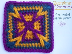 Bursting Corners Granny Square by Stitch11