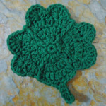 Clover Coaster by Aurora Suominen of DragonFlyMomof2 Designs