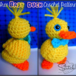 Baby Duck by Stitch11