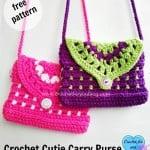 Cutie Carry Purse by Erangi Udeshika of Crochet For You
