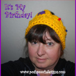 Birthday Crown Headband by Sara Sach of Posh Pooch Designs