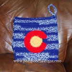Colorado Stadium Seat Pattern by Sara Sach of Posh Pooch Designs