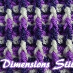 Dimensions Scarf / Afghan by Meladora's Creations