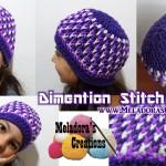 Dimension Stitch Beanie by Meladora's Creations