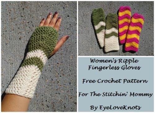 Crochet Fingerless Gloves Free Crochet Patterns Cpb