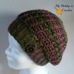 The Echo Ridge Slouch by My Hobby is Crochet