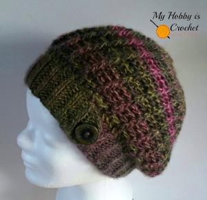 The Echo Ridge Slouch by My Hobby is Crochet