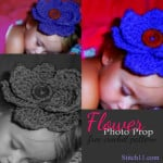 Flower Photo Prop by Stitch11