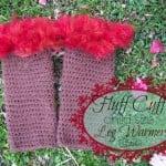 Fluff Cuff – Child Size Leg Warmers by Stitch11