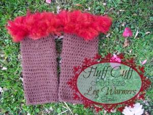 Fluff Cuff - Child Size Leg Warmers by Stitch11