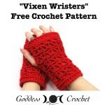 Vixen Wristers by Goddess Crochet