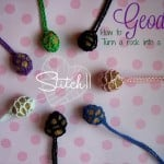 Geodes - How to Turn a Rock Into a Necklace by Stitch11