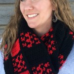 Buffalo Check Obsession Scarf by BreeAnna Laub of String With Style