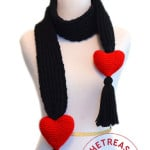 Lover's Knot Scarf by Crochet Treasures