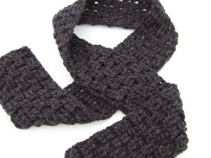 Double Strand Basket Weave Scarf by Crochet is the Way