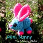 Mini Bunny by Stitch11