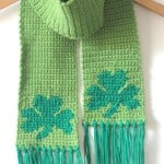 Shamrock Scarf by Repeat Crafter Me