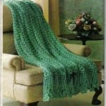 Irish Shamrocks Afghan by MomsLoveOfCrochet