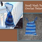 Mesh Drawstring Bag by Sara Sach of Posh Pooch Designs