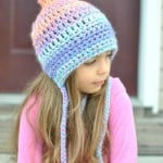 Unique Pixie Bonnet Style Crochet Hat by Cre8tion Crochet