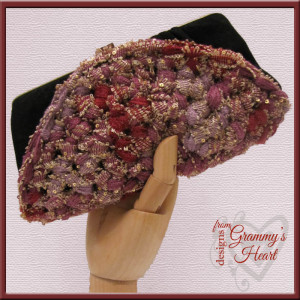 Boho Faux Beaded Bag by Designs from Grammy's Heart, with Love