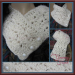 Button Down Lacy Collar by Designs from Grammy's Heart, with Love