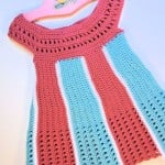 Carousel Baby Dress by Kim Guzman of Crochetkim