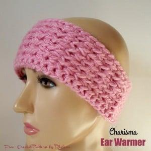 Charisma Ear Warmer by Rhelena of CrochetN'Crafts
