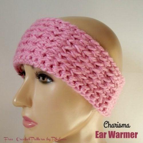 Charisma Yarn Baby Blanket: Charisma Ear Warmer By Rhelena Of CrochetN'Crafts