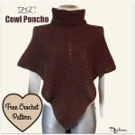 ESC Cowl Poncho by Rhelena of CrochetN'Crafts
