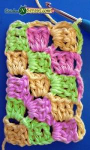 Diagonal Box Stitch by Stitches 'N' Scraps