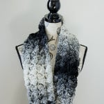 Fluffy Clusters Infinity Scarf by The Stitchin' Mommy