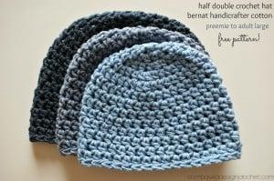 Half Double Crochet Hat by Oombawka DesignHalf Double Crochet Hat by Oombawka Design