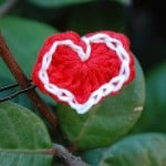 My Tiny Valentine (Hair Pin) by Inner Child Crochet