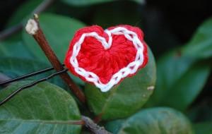 My Tiny Valentine (Hair Pin) by Inner Child Crochet