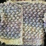 Girl's Homespun Jacket by Kim Guzman of CrochetKim