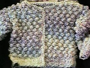 Girl's Homespun Jacket by Kim Guzman of CrochetKim