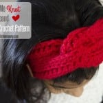 Love Me Knot Headband by The Stitchin' Mommy