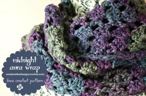 Midnight Aura Wrap by Oombawka Design