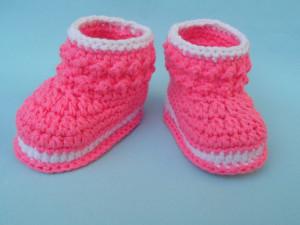 Crochet Booties by aamragul of Crochet/Crosia Home