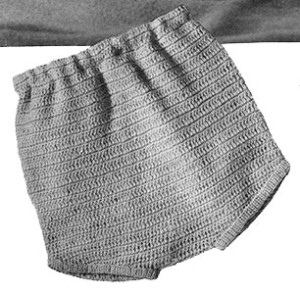 Crocheted Pants by Free Vintage Crochet
