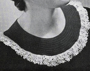 Pierrot Collar by Free Vintage Crochet